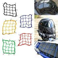 Motorrad Fahrrad Heckrahmennetz Gepäckband Elastisches Gepäcknetz I4T4