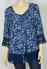 Paisley Casual Millers Falls Company Tops for Women