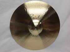 "Paiste Signature 16"" Full Crash Cymbal/New With Warranty/FREE Pearl Boom Stand!"