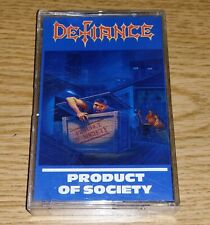 Defiance Product Of Society ORIGINAL Cassette Tape Thrash Metal SLAYER MEGADETH