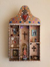 Altar Ofrenda Retablo Box Mexican Folk Art  Dia De los Muertos Day of the Dead