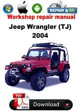Jeep Wrangler (TJ) 2004 Factory Workshop Repair Manual