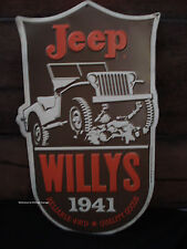METAL JEEP WILLYS DECOR seat lights tire wheels ww2 military auto car oem truck