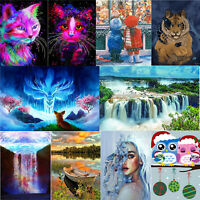 DIY 5D Diamond Painting Cross Crafts Stitch Kit Full Drill Embroidery Home Decor