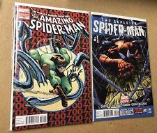 Amazing Spider-Man 700 Superior 1 2nd Print SIGNED DAN SLOTT COA Midtown Comics