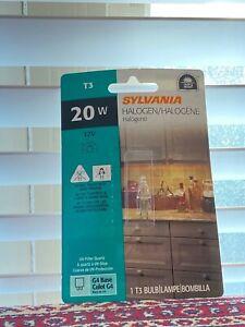 SYLVANIA 20w 12V BI-PIN GY6.35 BASE Halogen Light Bulb