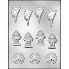 NEW Fireman Assortment Chocolate Candy Mold from CK #14684