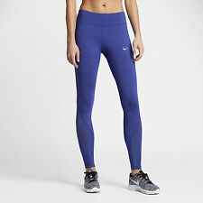 Nike Power Epic Lux Womens Running Tight Blue Size M 842923 512