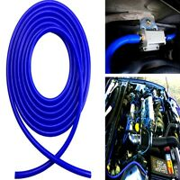 Universal 4mm Silicone Vacuum Pipe Hose Turbo Boost Water Air Coolant Valve Blue