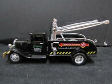 1934 BB-157 Ford Tow Truck O/On30 Scale BLACK STOCKTON TOWING 1/43 DIECAST ma15