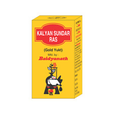 KALYAN SUNDAR RAS GOLD TABLETS BAIDYANATH AYURVEDIC SUPPLEMENTS