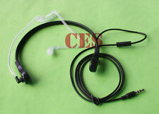 Black Headphone Earphone Throat Mic Sport Headset For Apple iPhone 5 5C 5S