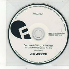 (EH476) Joy Joseph, Our Love is Taking Us Through - 2008 DJ CD