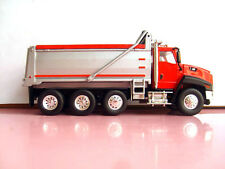CATERPILLAR CAT CT660 DUMP TRUCK RED 1/50 DIECAST MODEL BY NORSCOT 55502