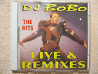 CD D.J. Bobo The Hits Live & Remixes Music Take Control Everybody