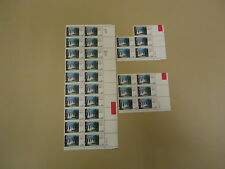 USPS Scott 2167 22c Arkansas Statehood 1850-1986 Plate Block Set of 3 30 Stamps