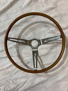 1965-1966 Chevrolet Corvette Teakwood Steering Wheel