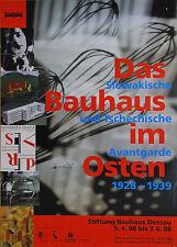 Plakat - Das Bauhaus im Osten: Slowakische und tschechische Avantgarde