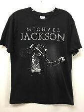 Michael Jackson M.J. Prince of Pop Graphic T-Shirt Hanes Size Large (42-44)