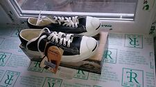Converse Jack Purcell Low 17974 Black Leather M 8.5, UK 7.5, EUR 42 Made in USA