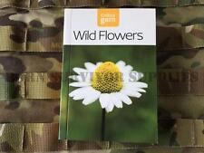 WILD FLOWERS GUIDE New Collins Gem Bushcraft Survival Pocket Book Plant Foraging