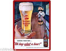 National Bohemian Beer  Refrigerator / Tool Box Magnet Man Cave
