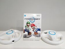 Mario Kart With 2 Official Wheels Wii Wii U Fast Post Christmas Birthday