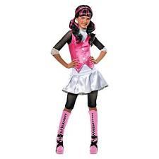 Girls Monster High Draculaura Schoolgirl Dracula Costume Large 12-14  sc 1 st  eBay & Rubieu0027s Vampire Costumes for Girls | eBay