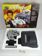 Nintendo 64 N64 Goldeneye 007 Limited Edition Boxed Console PAL
