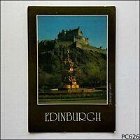 Edinburgh Castle Postcard (P626)
