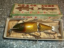 Creek Chub Wigglefish Gold Scale With Box Papers Exceptional