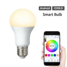 4.5W Bluetooth Wireless Dimmable Smart RGB E27 APP Remote Control LED Light Bulb