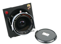 EX+ Schneider Super-Angulon 90mm f/8 Technika Linhof Large Format Lens w/Cap