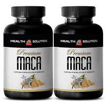 Male Sexual Performance Tablets - Premium Maca 1300mg - L Arginine 3000 2B