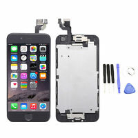 """Black LCD Touch Screen Display Digitizer Assembly for iPhone 6 4.7"""" Home Button"""