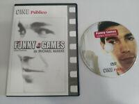 FUNNY GAMES MICHAEL HANEKE - DVD SLIM NUEVA ESPAÑOL ALEMAN