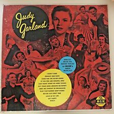 MUSICAL LP-Judy Garland-IF YOU FEEL LIKE SINGING SING-MGM EX 1954 Original 12''