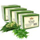 Khadi Natural Pure Neem Soap 125gm x 4 Pack of 4