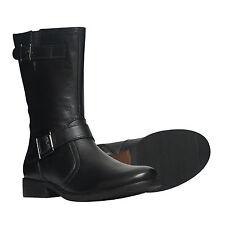 Markenlose Stiefel und Stiefeletten ohne Muster für Damen