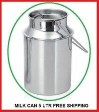 Milk Can Stainless Steel 5 Litter Milk Can Kitchen Milk Can Best Quality Ebay On