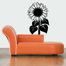 Wall Gift Vinyl Sticker Decals Mural Design Beautiful Farm Sunflower Seeds #418