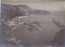 Nice Le Port Côte d'Azur France Photo amateur Vintage argentique vers 1910