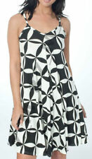 Viscose Geometric Plus Size Sleeveless Dresses for Women