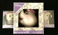 Disney 2 Tassen Set ! Pottine Ms Potts Teekanne Die Schöne Und das Biest Tassilo