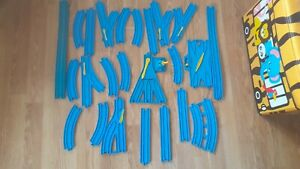 Thomas The Tank Engine Trackmaster Spares Replacements Blue Track Vintage Bundle