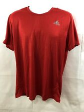 Men's adidas running climacool large shirt red Nwt #2.