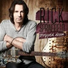 Stripped Down 4029759102236 by Rick Springfield CD With DVD
