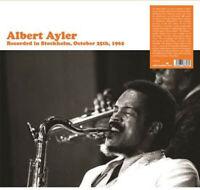 Albert Ayler - Recorded in Stockholm [New Vinyl LP] 2 Pack