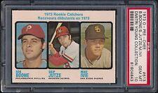 1973 O-PEE-CHEE OPC #613 Bob Boone Rookie Card RC PSA 10 GEM MT (Pop 2) Phillies