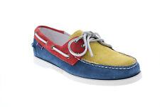 Sebago Portland piruetas 7002TP0 para Hombre Azul Zapatos Náuticos Mocasines & Slip Ons